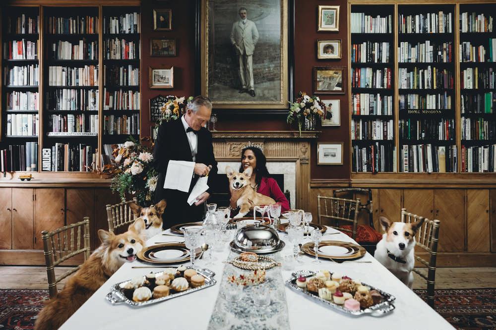 Earl of Fitzroy/倫敦/英國/旅遊/英國皇室體驗/倫敦古蹟/私人管家/圖書室