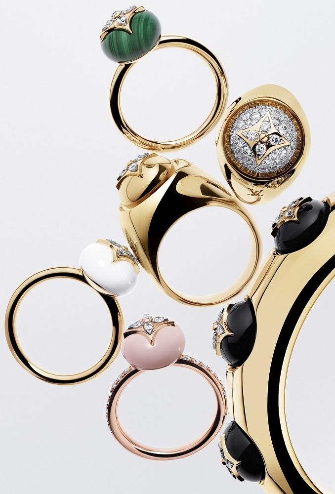 路易威登/B Blossom jewellery/戒指/首飾/2019路易威登冬季新品/Monogr