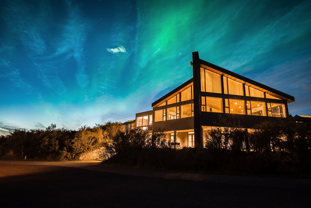 Hotel Húsafell/國家地理認證/冰島探險小屋/最獨特度假小屋/探險奢旅/絕美極光
