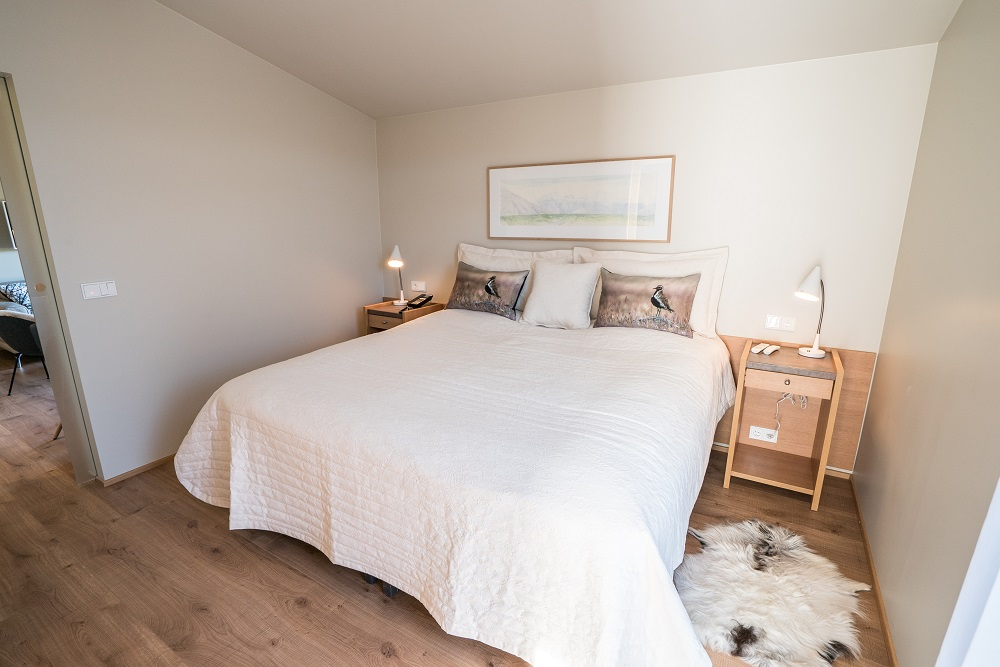 Hotel Húsafell/冰島/客房/舒適大床