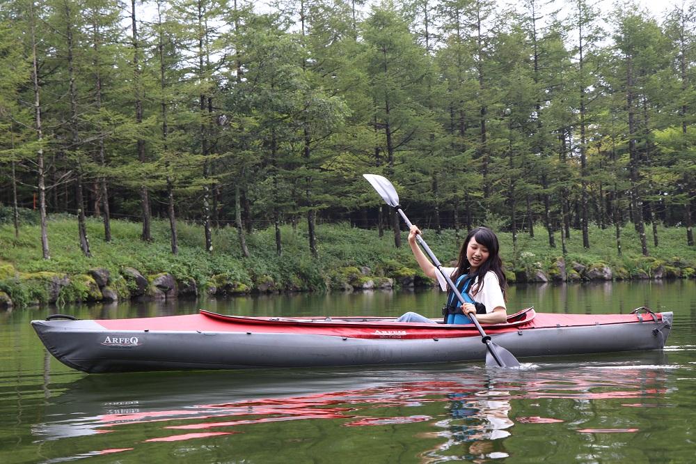 日本八岳/ Sun Meadows 清里滑雪場/戶外體驗/划皮艇