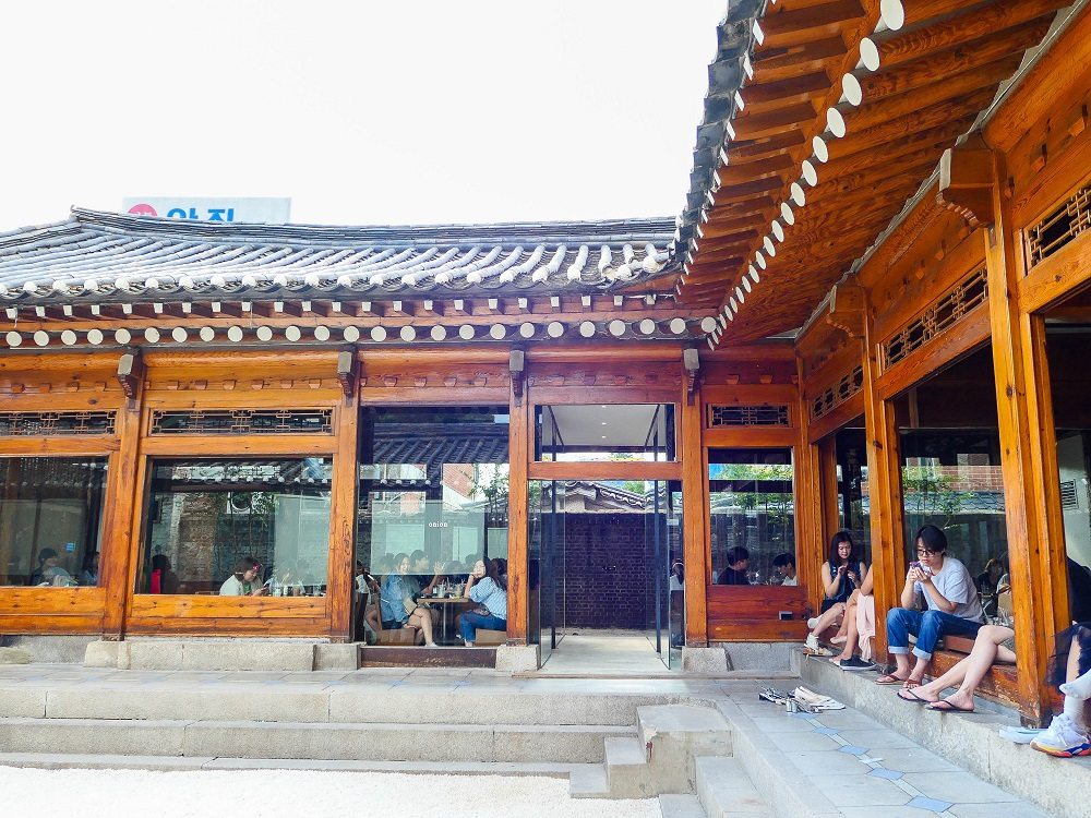 onion 3號店/咖啡麵包店Café Onion/韓屋/首爾人氣早午餐店