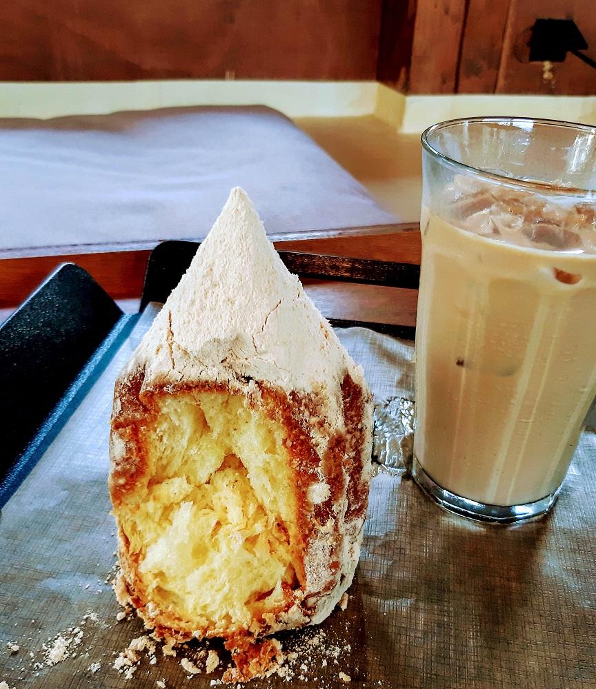 咖啡麵包店Café Onion/首爾人氣早午餐店/糖粉麵包/奶油丹麥吐司