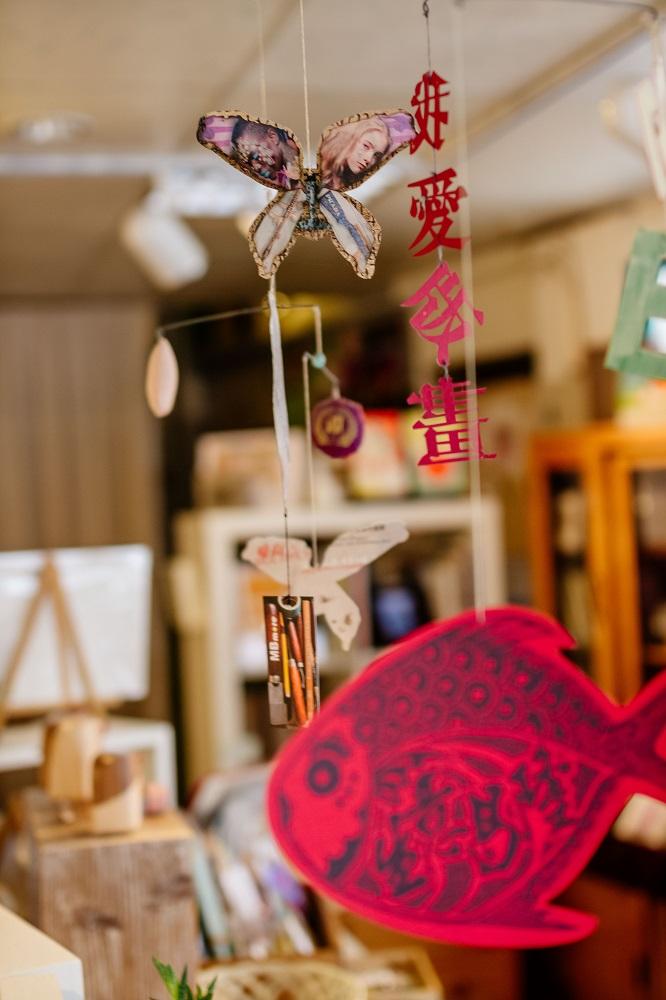 岩筆模MBmore/版畫/台北/我愛版畫/大紅鯉魚