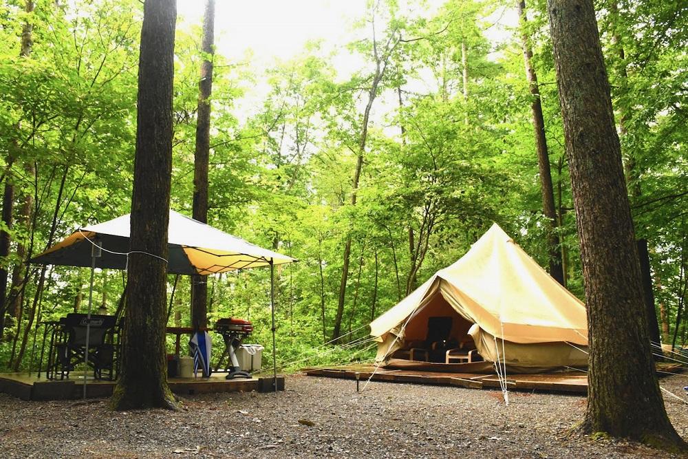 Glamping/豪華野營/日本/清里丘公園/露營熱
