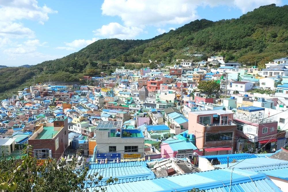 彩色村莊/釜山/韓國