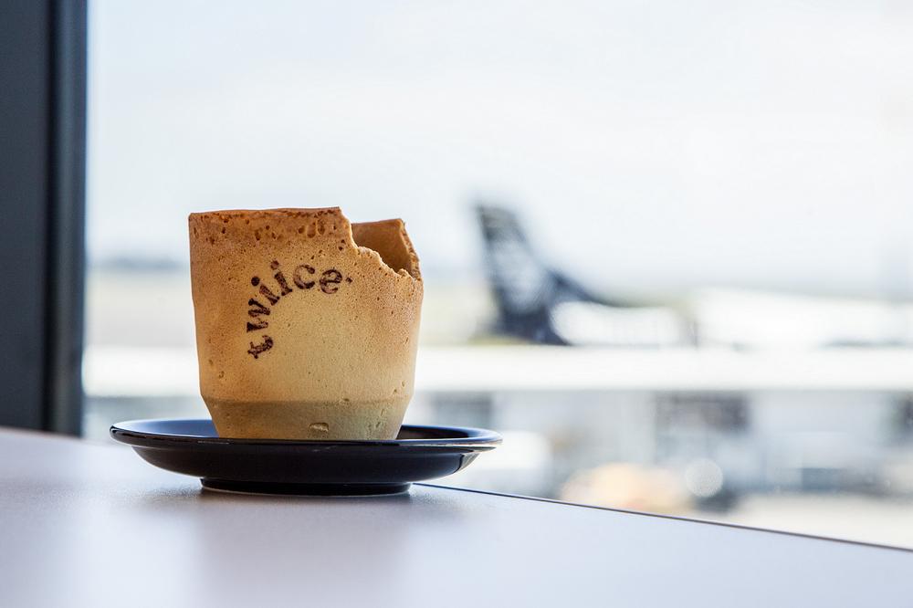 紐西蘭航空/奧克蘭/紐西蘭/旅遊/餅乾咖啡杯/環保/綠旅行