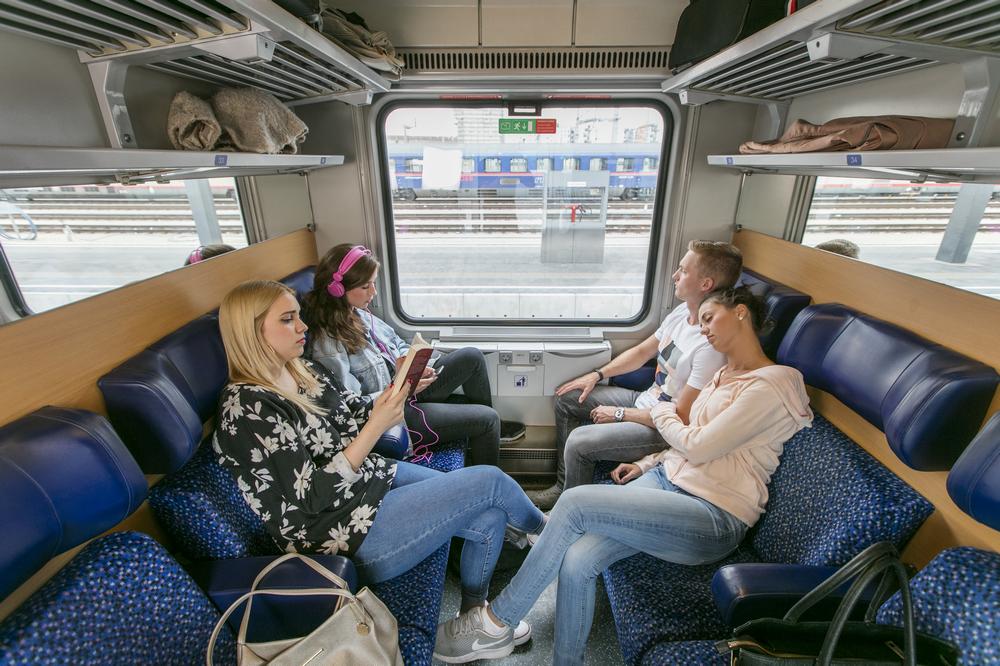 ÖBB Nightjet/奧地利/歐洲鐵道旅行/奧地利國鐵/臥舖列車/座位車廂