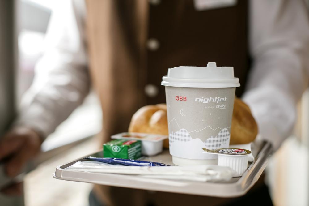 ÖBB Nightjet/奧地利/歐洲鐵道旅行/奧地利國鐵/臥舖列車/供餐