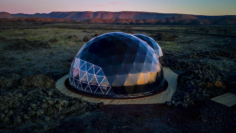 Aurora Basecamp/冰島/旅遊/極光基地營/極光/營帳外觀