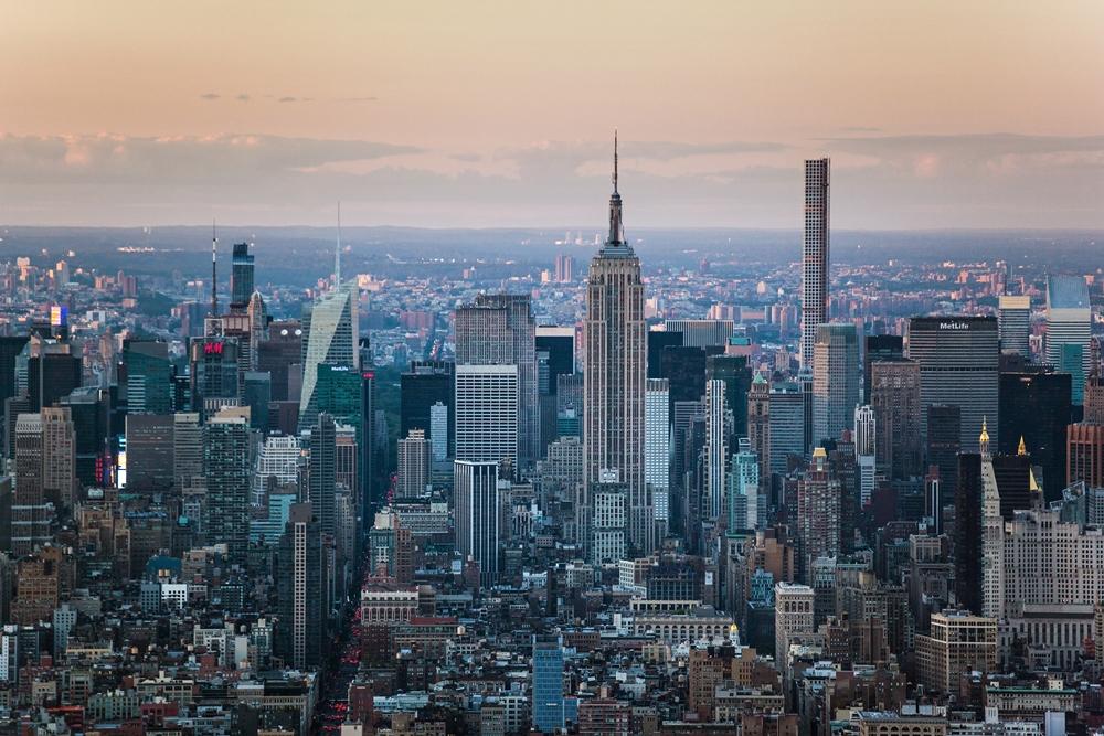 洛克斐勒觀景台/紐約/美國