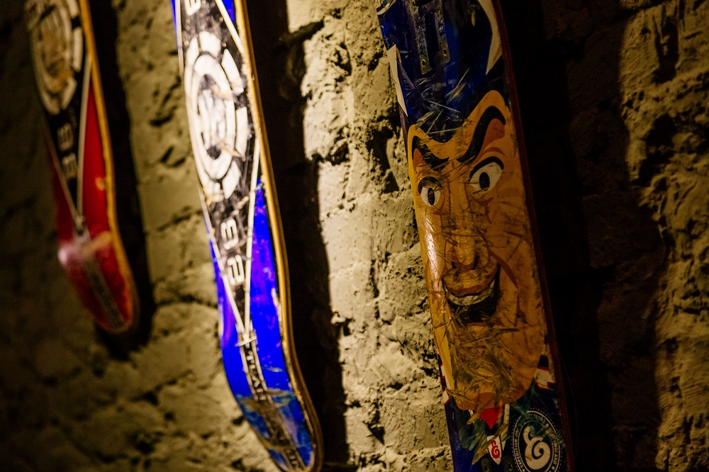 COLASA/台灣當代藝術家/街頭塗鴉 /RKZ Caf'e/滑板