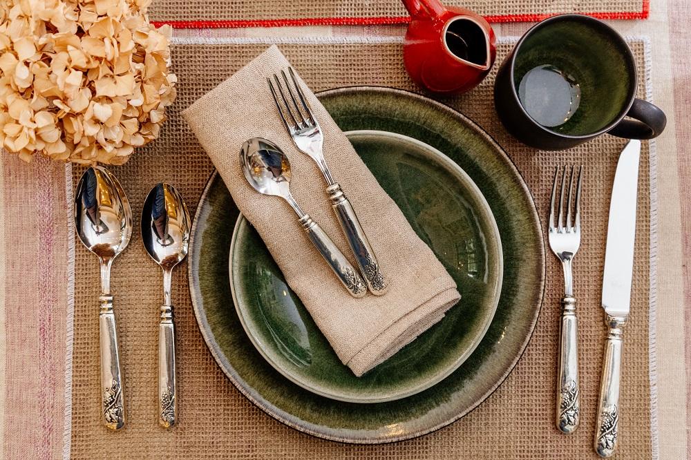 小普羅旺斯/富錦街/台北/歐風家飾/銀質餐具/陶瓷碗盤