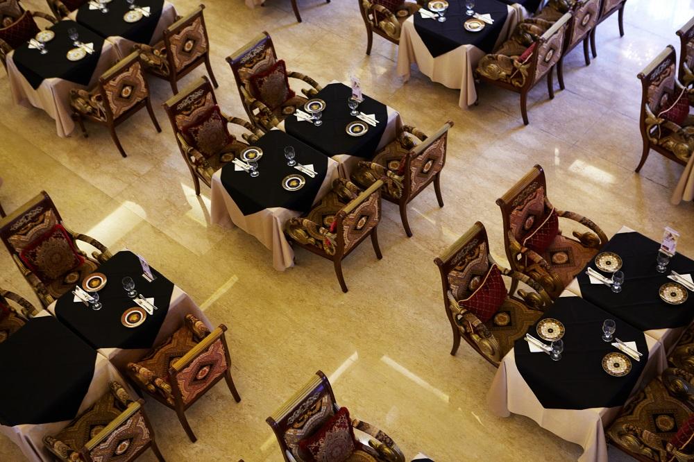 玫瑰夫人旗艦店/餐廳座位/台北美食推薦/巴洛克式餐廳