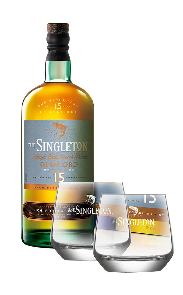蘇格登15年單一麥芽威士忌禮盒/蘇格登