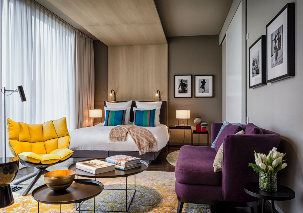 SO/ Berlin Das Stue/柏林/德國/住宿/設計旅館/客房空間