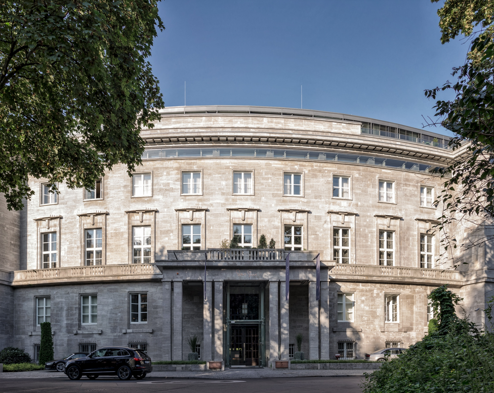 SO/ Berlin Das Stue/柏林/德國/住宿/設計旅館/建築外觀/丹麥大使館