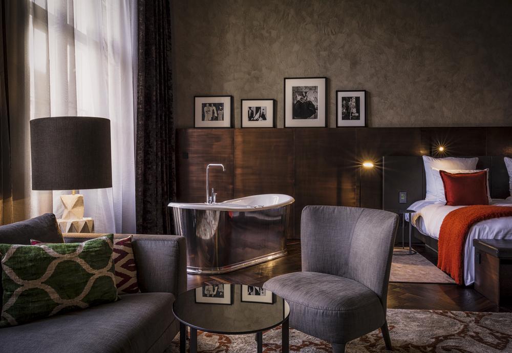 SO/ Berlin Das Stue/柏林/德國/住宿/設計旅館/客房空間/設計家具