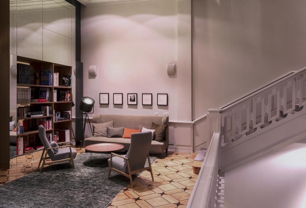 SO/ Berlin Das Stue/柏林/德國/住宿/設計旅館/圖書館