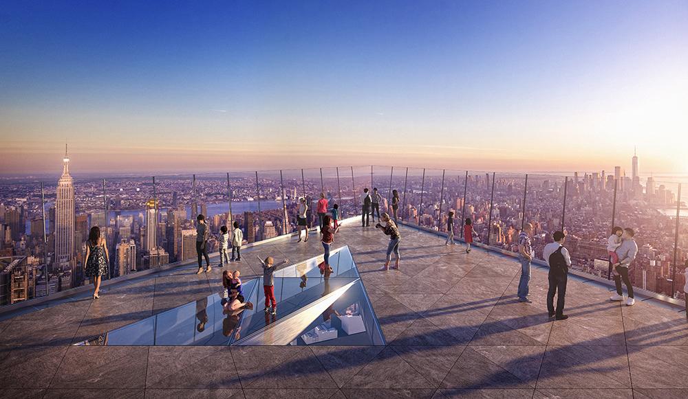 Edge New York/天際線/曼哈頓/美國紐約/大人的美好時光