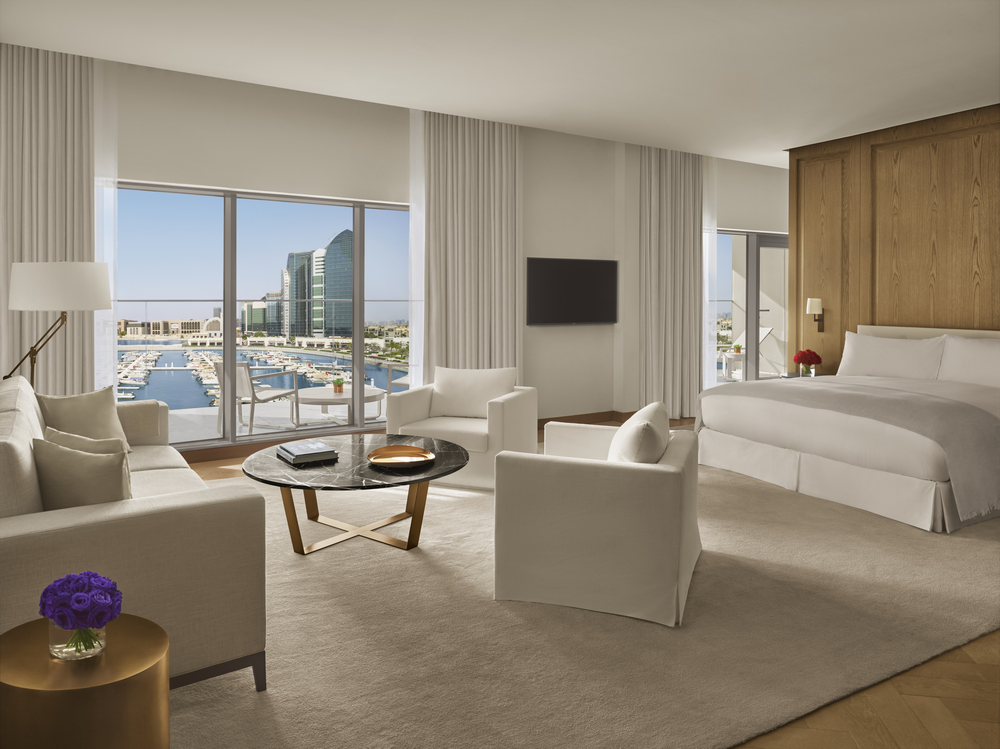 Abu Dhabi EDITION/阿布達比/中東/設計/奢華旅館/閣樓客房