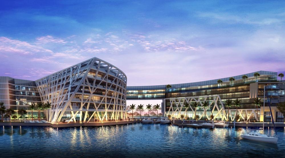 Abu Dhabi EDITION/阿布達比/中東/設計/奢華旅館/建築外觀