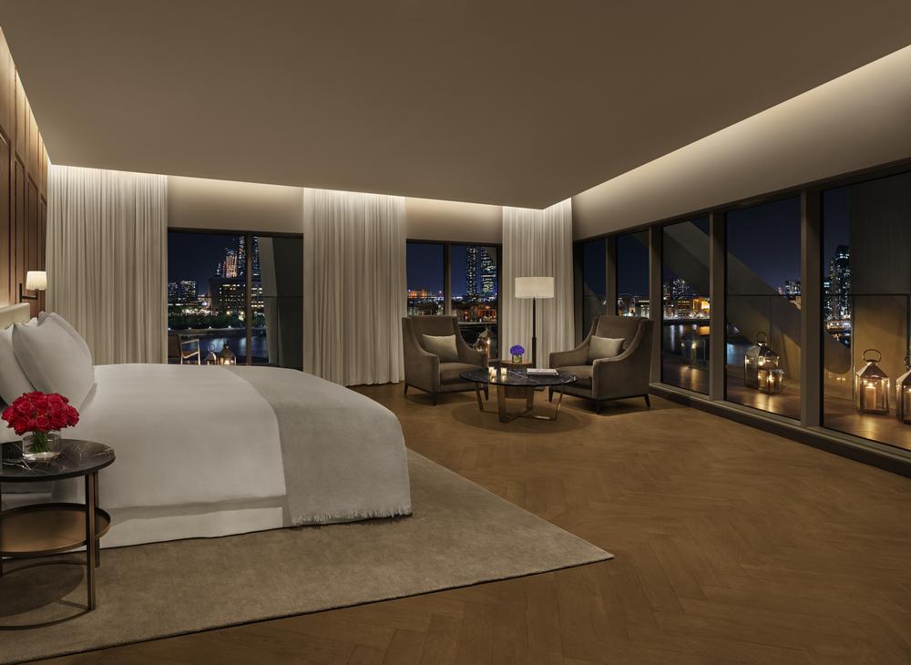 Abu Dhabi EDITION/阿布達比/中東/設計/奢華旅館/皇家閣樓套房
