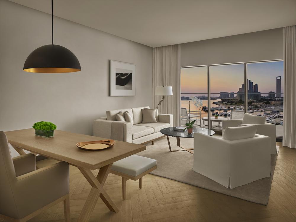 Abu Dhabi EDITION/阿布達比/中東/設計/奢華旅館/客房