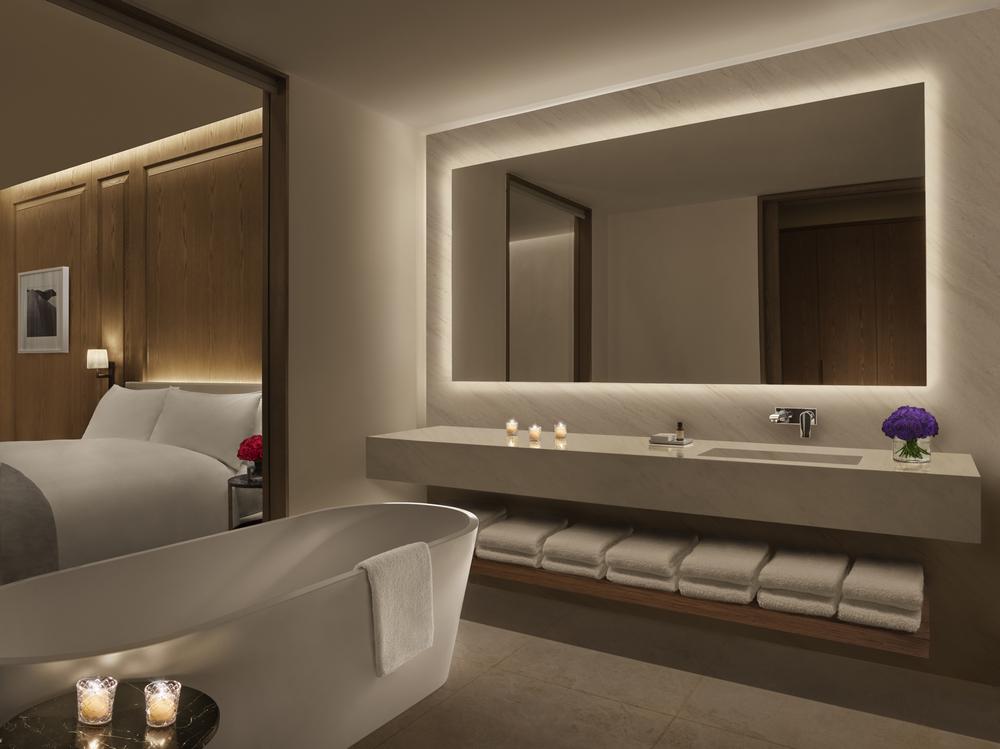 Abu Dhabi EDITION/阿布達比/中東/設計/奢華旅館/衛浴