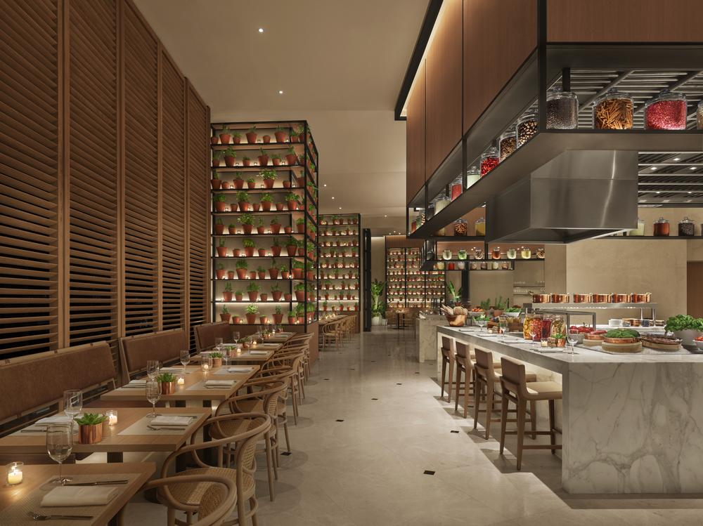 Abu Dhabi EDITION/阿布達比/中東/設計/奢華旅館/健康/餐廳