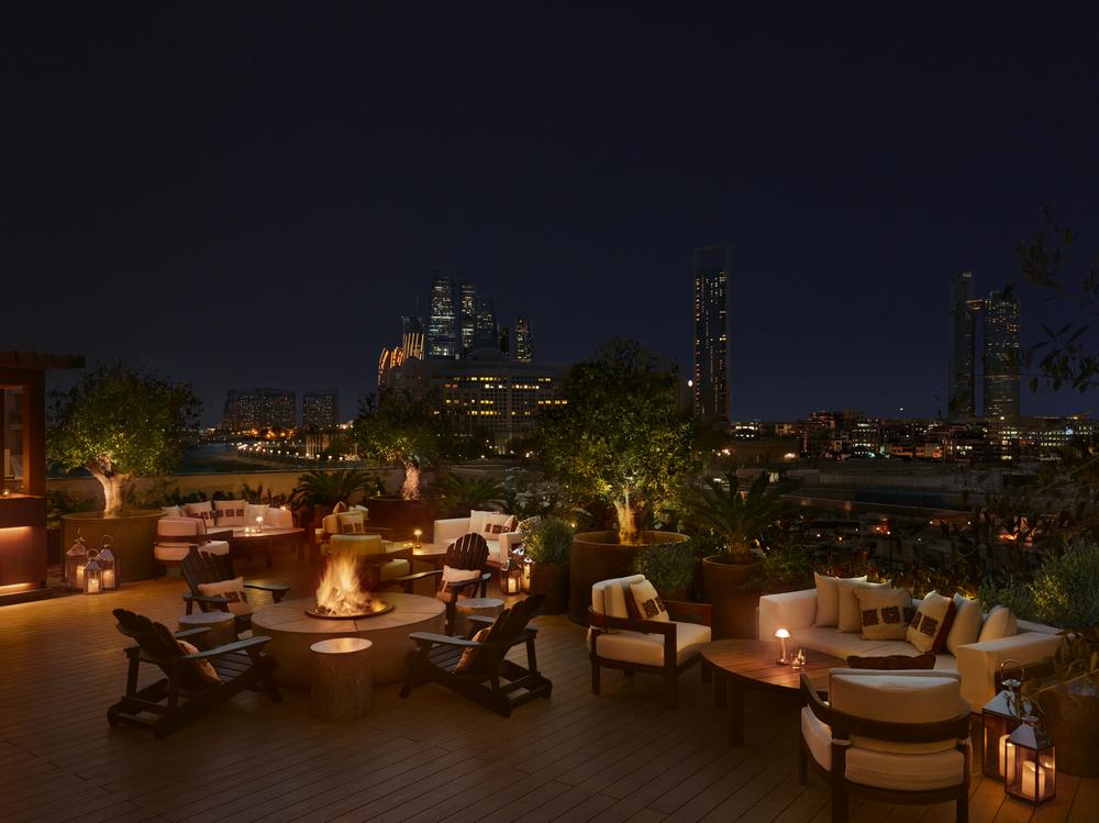 Abu Dhabi EDITION/阿布達比/中東/設計/奢華旅館/露臺