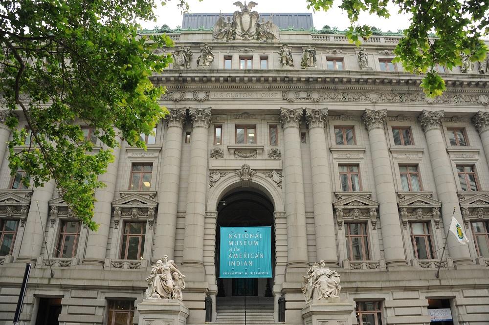 曼哈頓下城/國立美國原住民博物館/美國/金融區