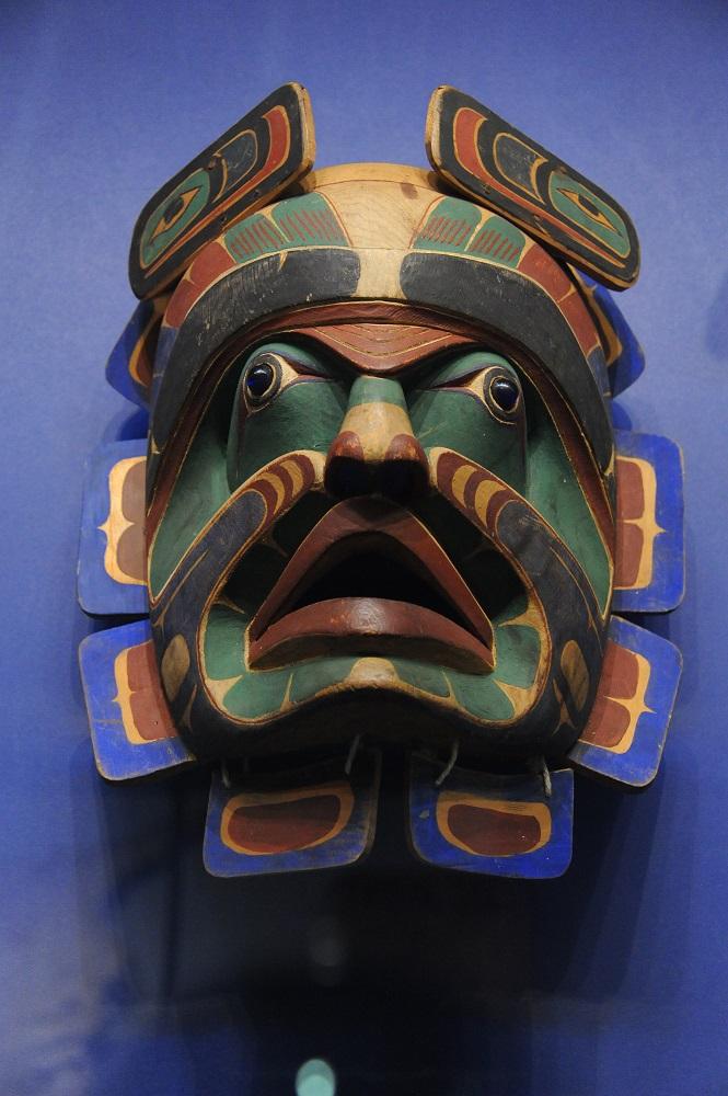 曼哈頓下城/國立美國原住民博物館/美國/面具