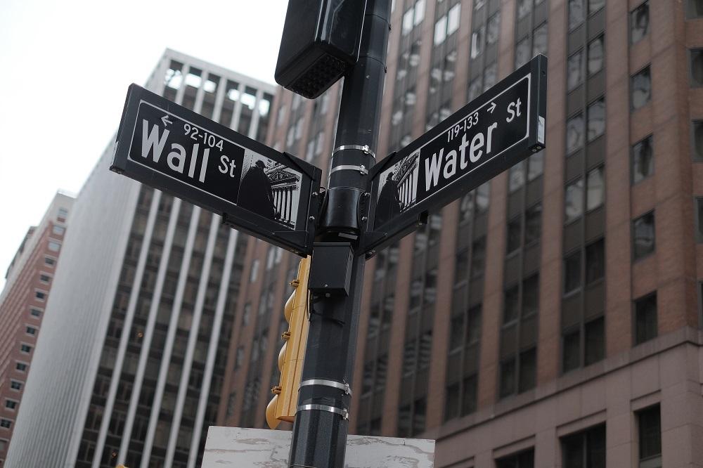 曼哈頓下城/華爾街/世界金融中心/美國/路標