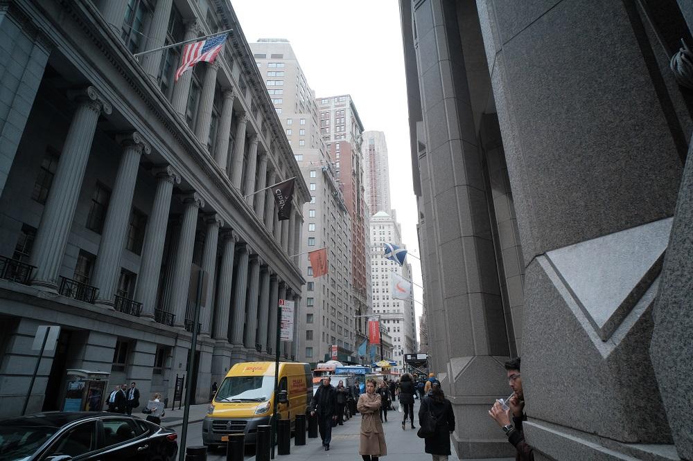 曼哈頓下城/華爾街/世界金融中心/美國
