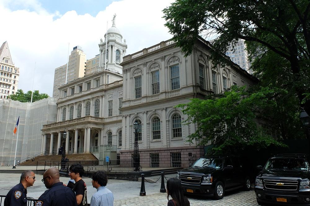 曼哈頓下城/市政廳與公園/美國