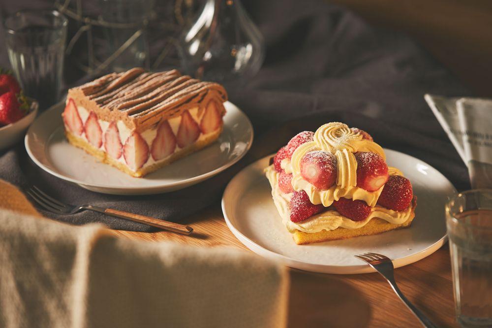 深夜裡的法國手工甜點/草莓塔/台北