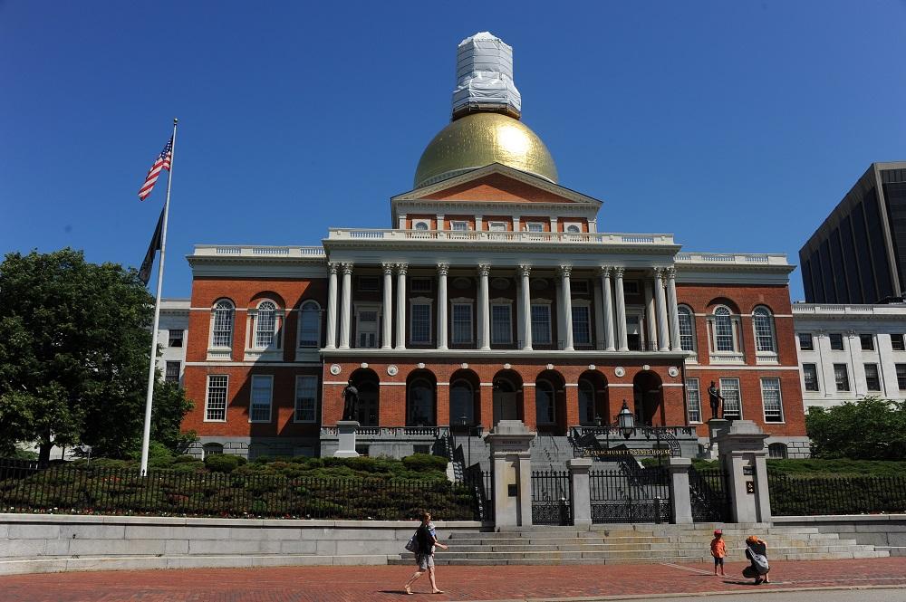 自由之路/波士頓/美國獨立/麻州議會廳