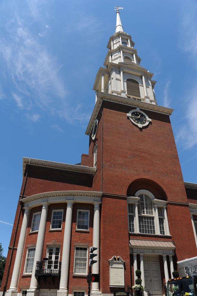 自由之路/波士頓/美國獨立/公園街教堂