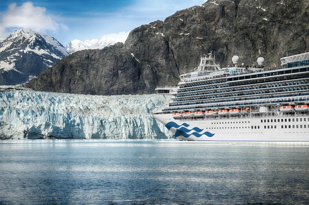 皇家公主號/公主遊輪/阿拉斯加冰河/2020旅遊