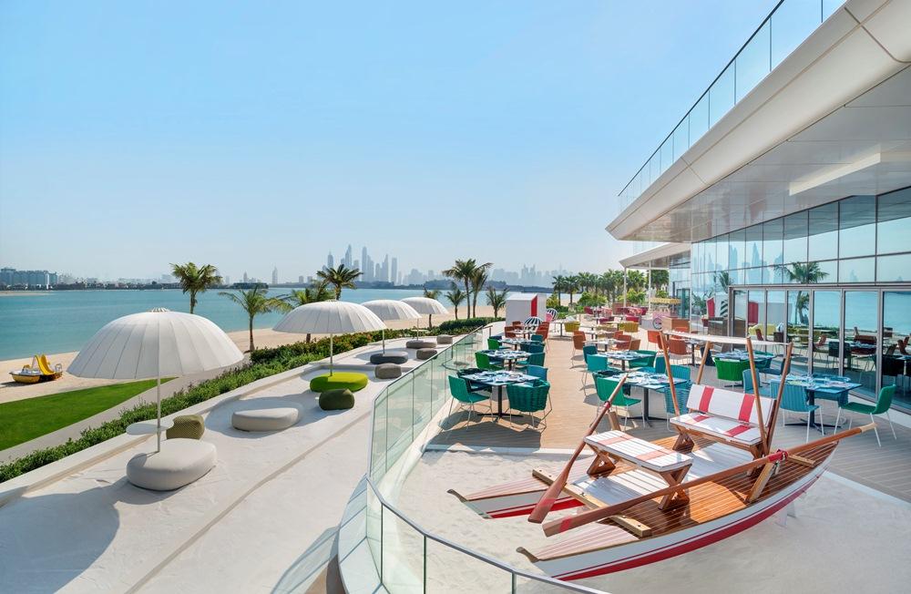Torno Subito/餐廳/W Dubai - The Palm/絕景旅館/藝術設計/海濱/杜拜