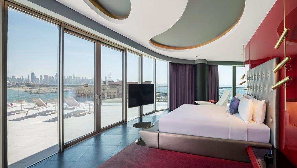 套房/W Dubai - The Palm/絕景旅館/藝術設計/海濱/杜拜/阿聯