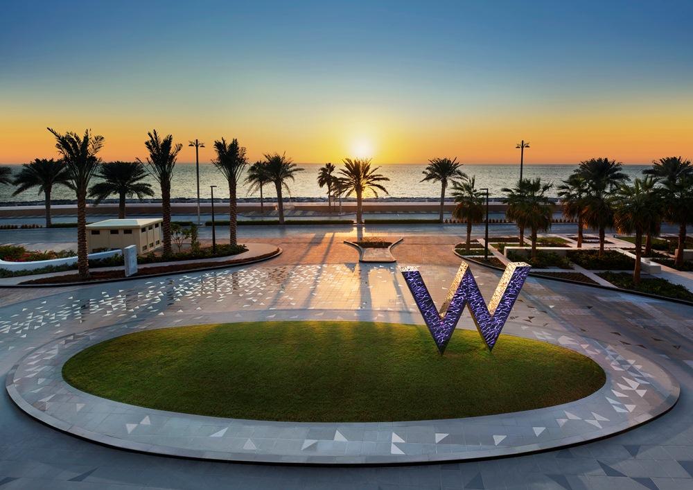 W標誌/W Dubai - The Palm/絕景旅館/藝術設計/海濱/杜拜/阿聯