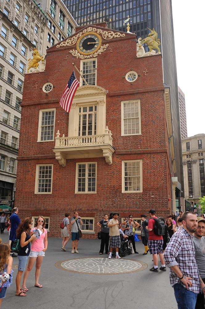 自由之路/波士頓/美國獨立/舊州議會廳