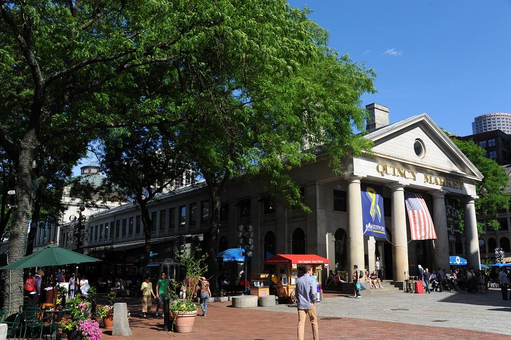 自由之路/波士頓/美國獨立/昆西市集/范尼爾廳市集