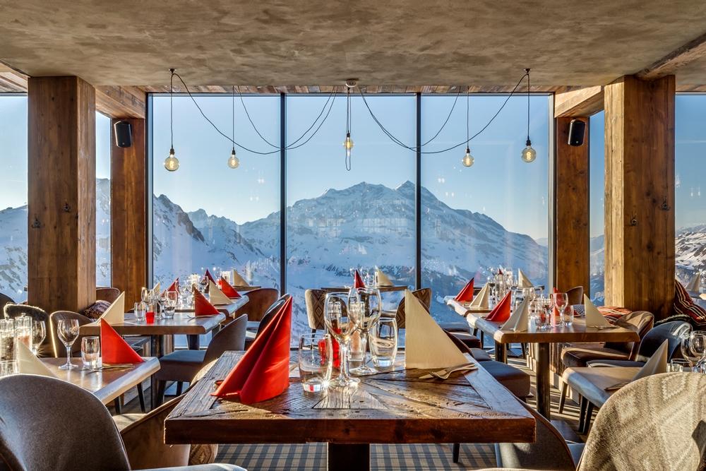餐廳/Le Refuge de Solaise/最高海拔旅宿/童話雪屋/阿爾卑斯連峰/法國/歐洲