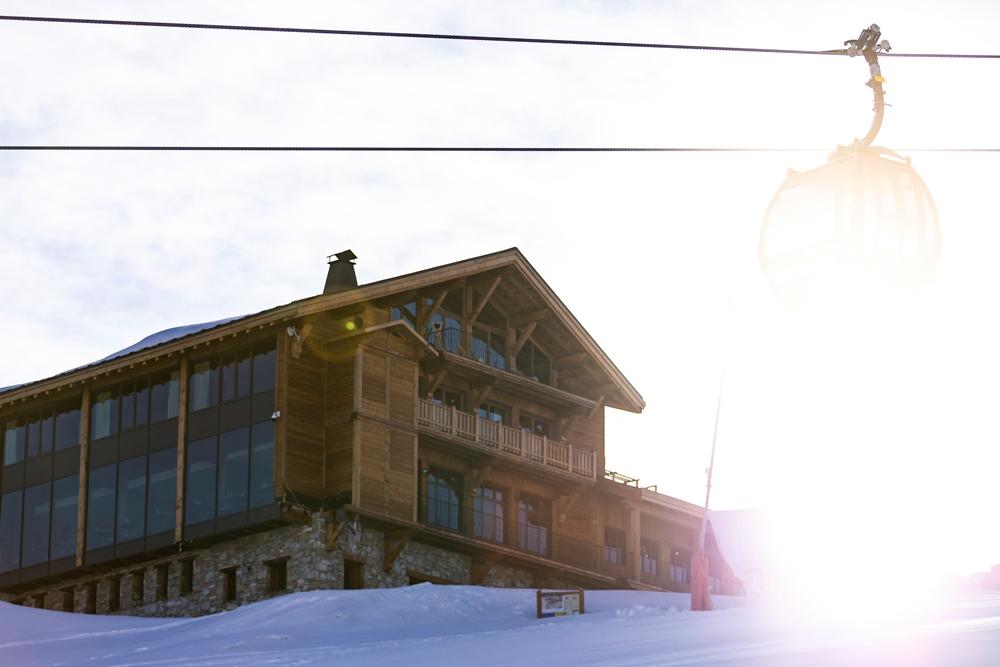 外觀/Le Refuge de Solaise/最高海拔旅宿/童話雪屋/阿爾卑斯連峰/法國/歐洲