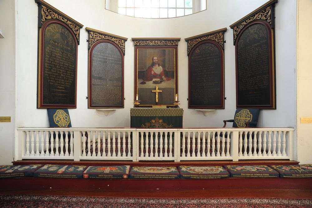 自由之路/波士頓/美國獨立/老北教堂/皇家總督專用的包廂