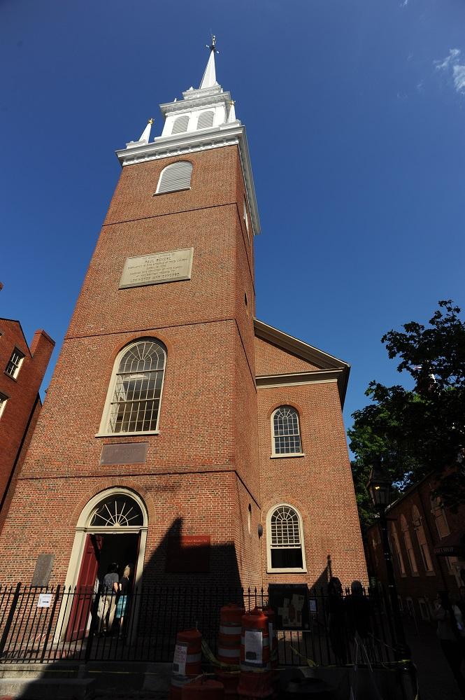 自由之路/波士頓/美國獨立/老北教堂