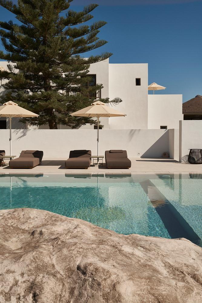 泳池/Parīlio/絕景飯店/方塊造型/愛琴海/希臘